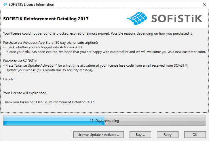 Autodesk Account Licensing (BIM Apps) — SOFiSTiK