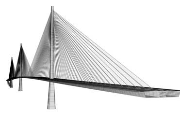 Queensferry Crossing Modell